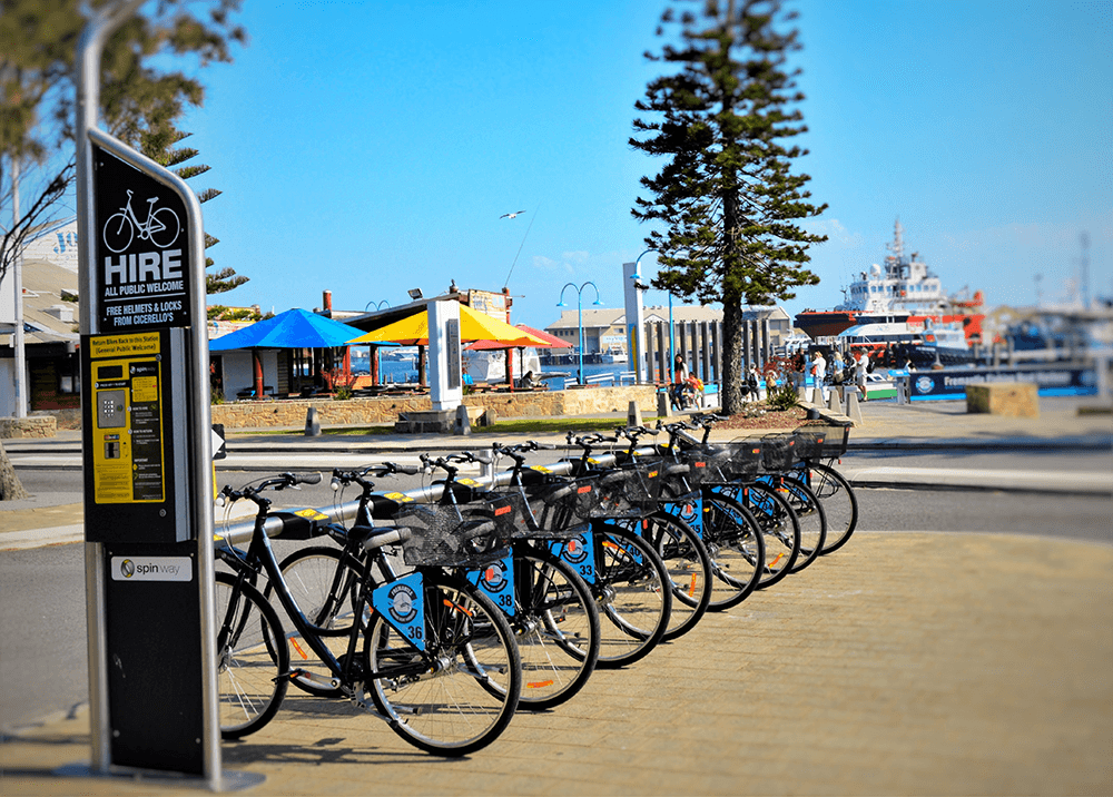 Bike Hire Station in Fremantle WA